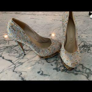Brand New Gianmarco Lorenzi platform Heels